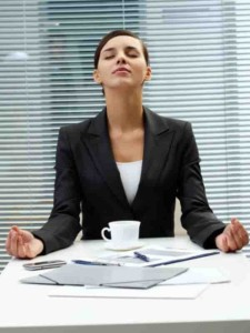meditate at work